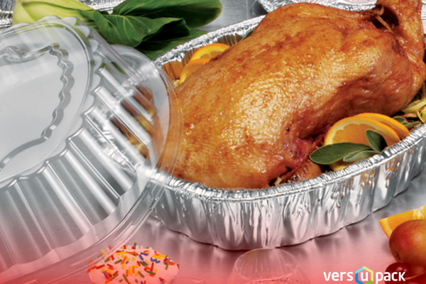 Aluminum Casserole Roaster Pan for turkey