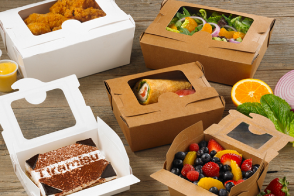 Sustainable food packaging: To-go containers