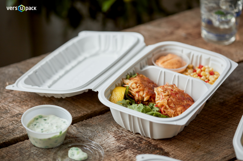 Eco-friendly fast food containers