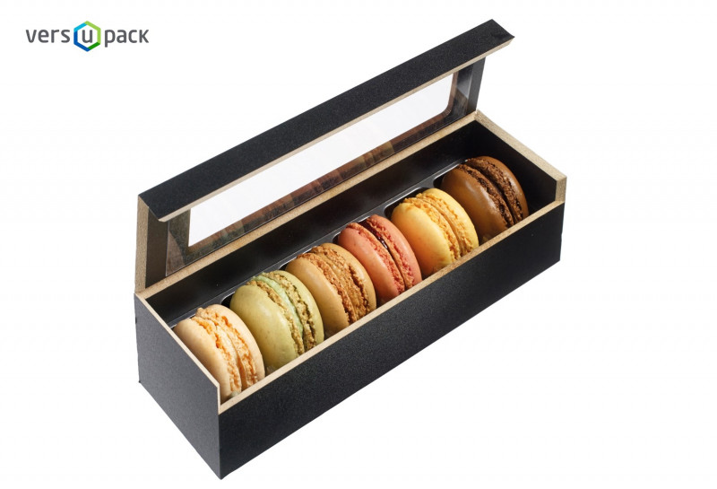 Macaron Packaging with Different Shapes and Sizes
