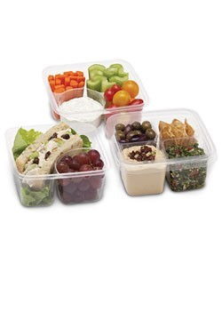 Eco-friendly take-out boxes and PLA foodservice containers