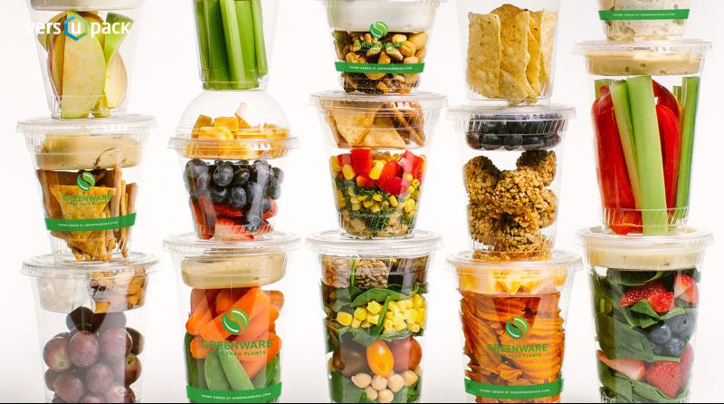 Kertakäyttöiset kupit ja kannet, Biolagunevad toidukarbid
