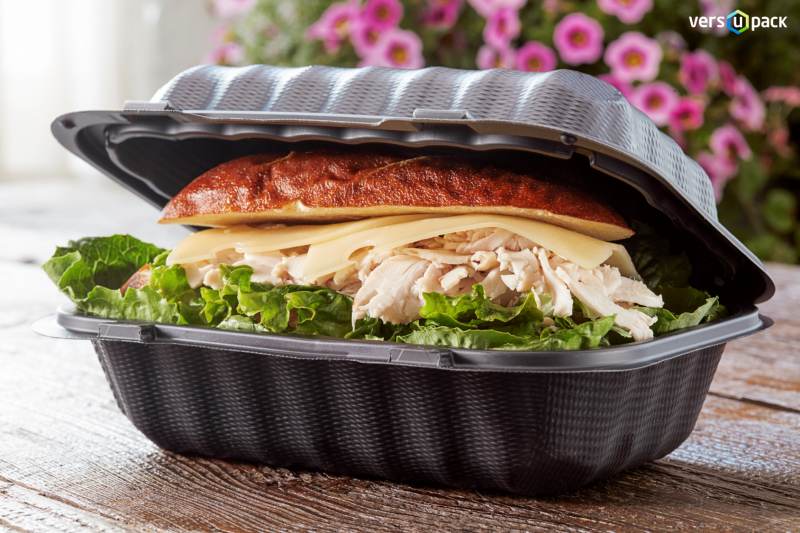 Biodegradable takeaway food containers