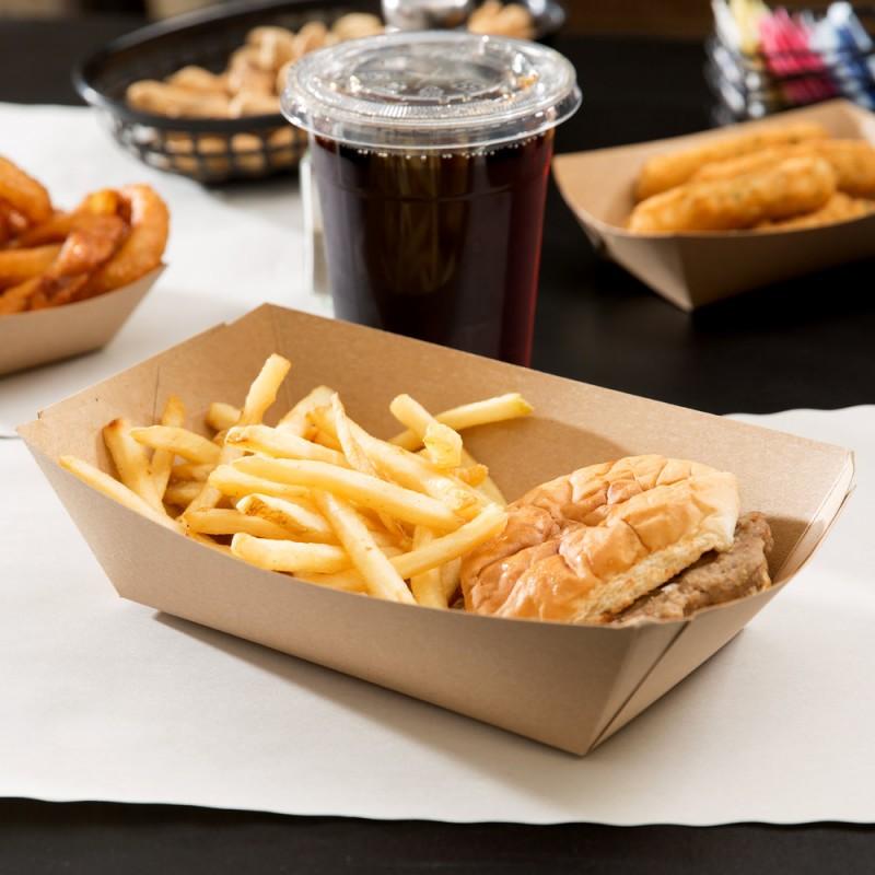 Eco Kraft Disposable Tableware and Food Packaging