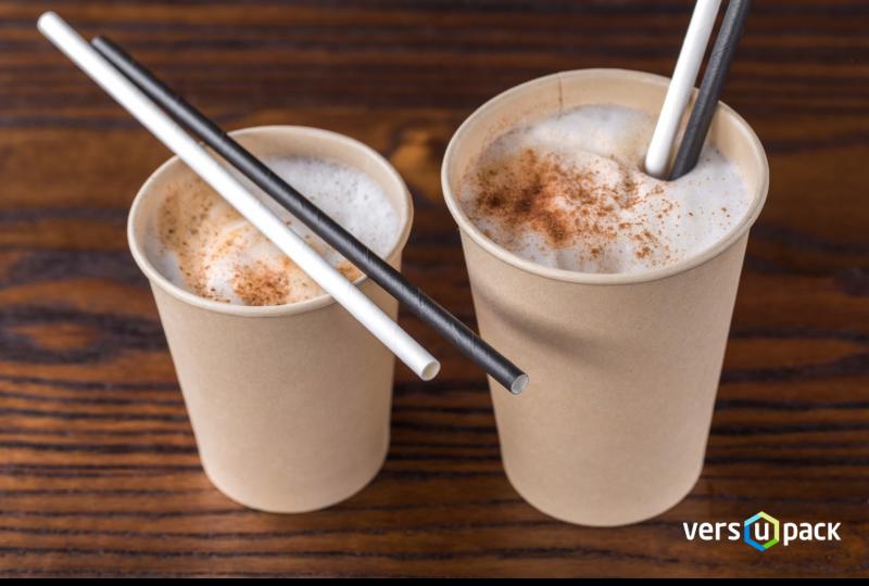 biolagunevad paberist joogikõrred