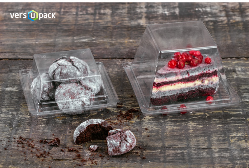 Disposable containers for gastronomy and bakeries, cake containers To Go