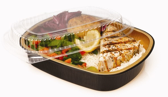 Aluminum Foil Take-Out Containers for the Asian Restaurant