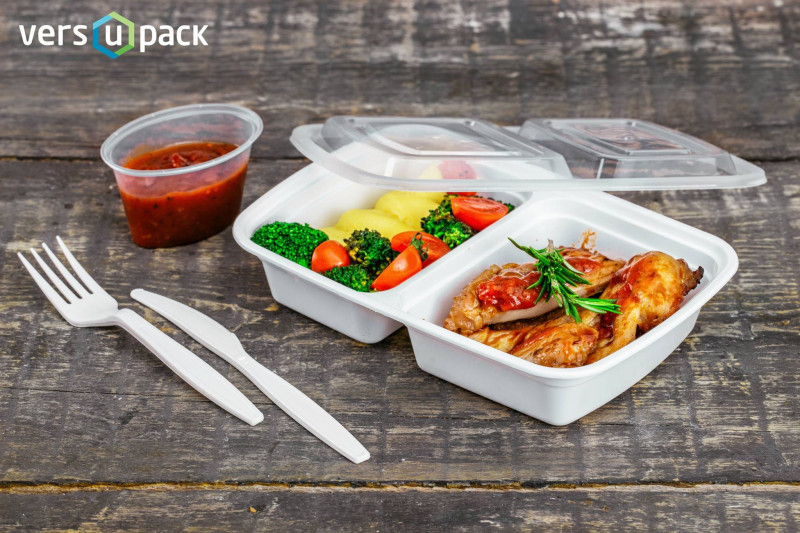 Reusable take-out deli containers